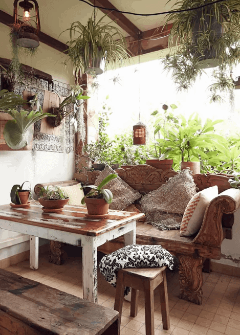 How to Decorate to Thrift the Look, Boho Style