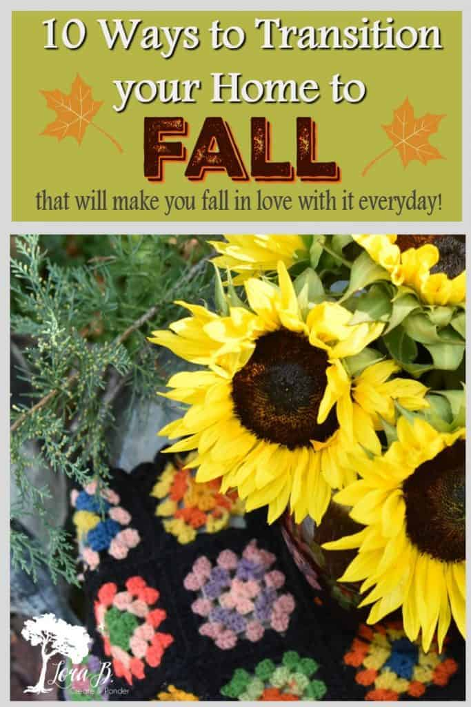 transition to fall home decor ideas