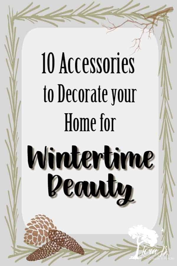 Try these 10 neutral accessories for your wintertime decorating ideas. Winter decorating is anything but boring! Classic and textural interest bring cozy winter beauty to your home. #winterdecoratingideas #vintagedecor #classicdecor #accessorizingwithvintage #vintagedecorideas #vintagecameras #vintagescales #wintertextures #winterdecor