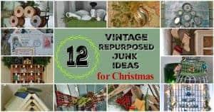 Christmas repurposed junk ideas