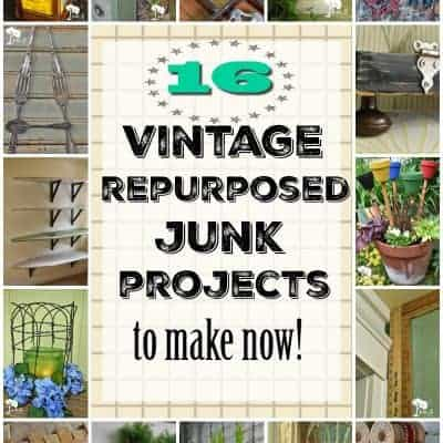 16 Best Vintage Repurposing Junk Projects to Make Now