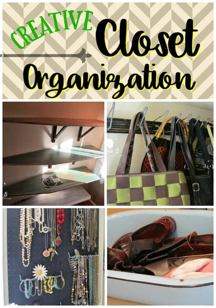 Creative Closet Organization