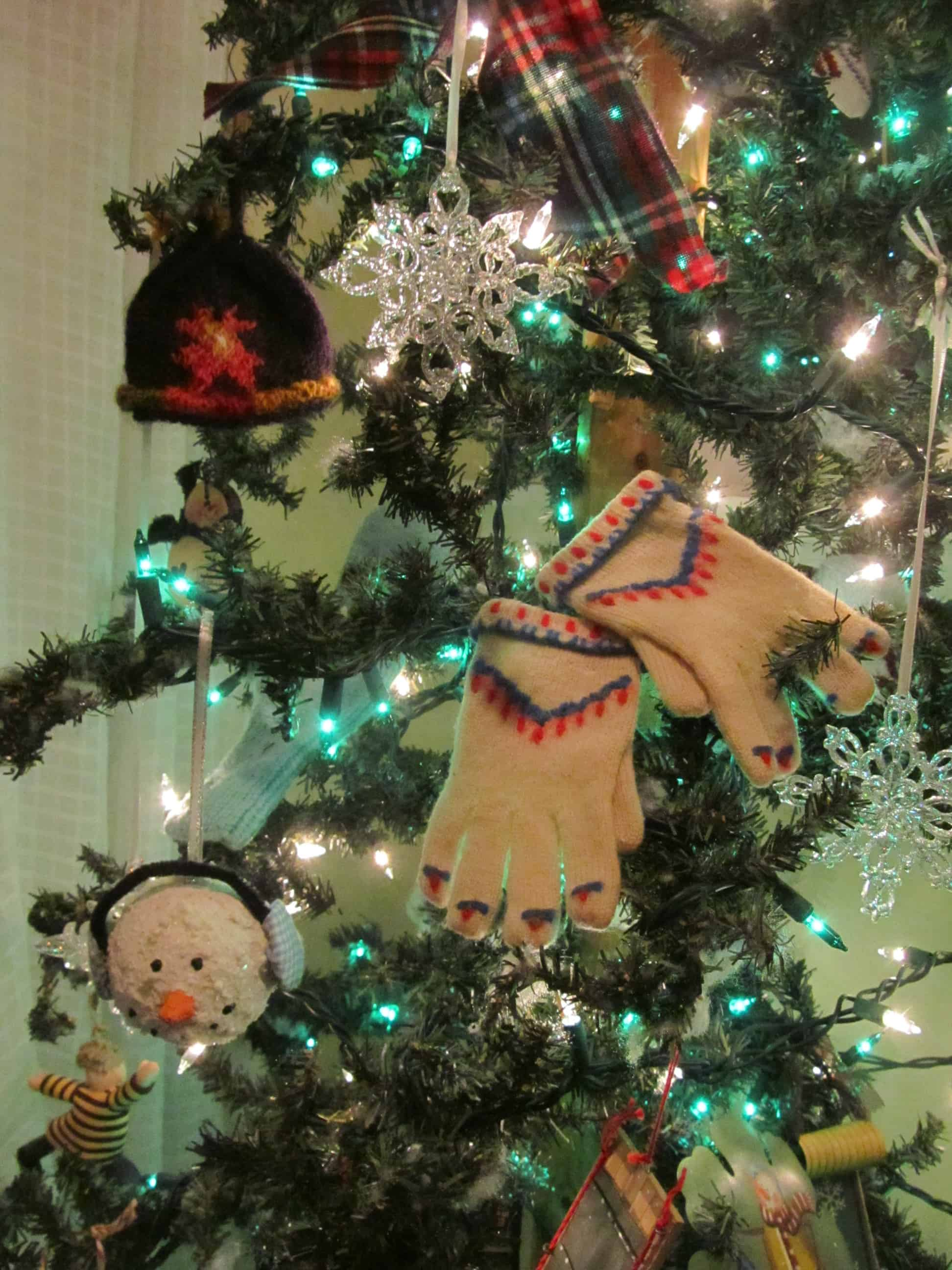 Snow Themed Ornaments