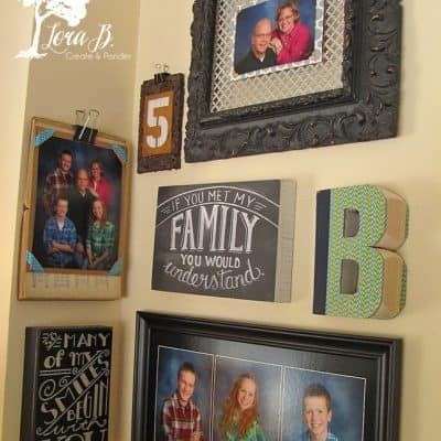 Family Photo Corner