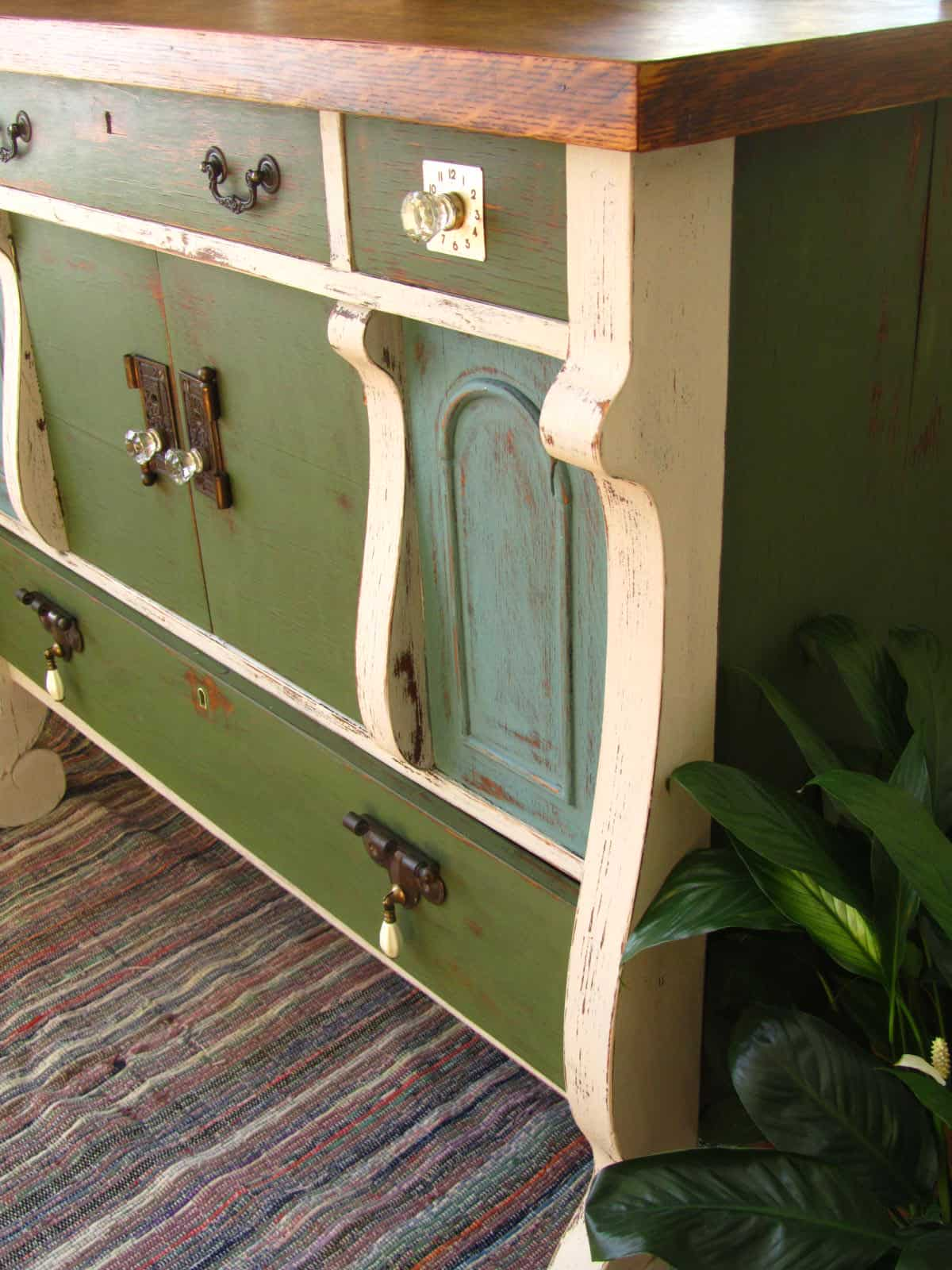 Empire Buffet in MMS milk paint