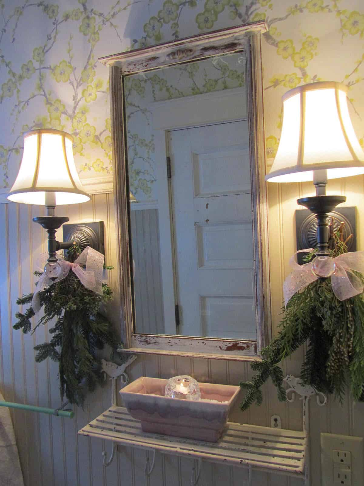Decorated Sconces