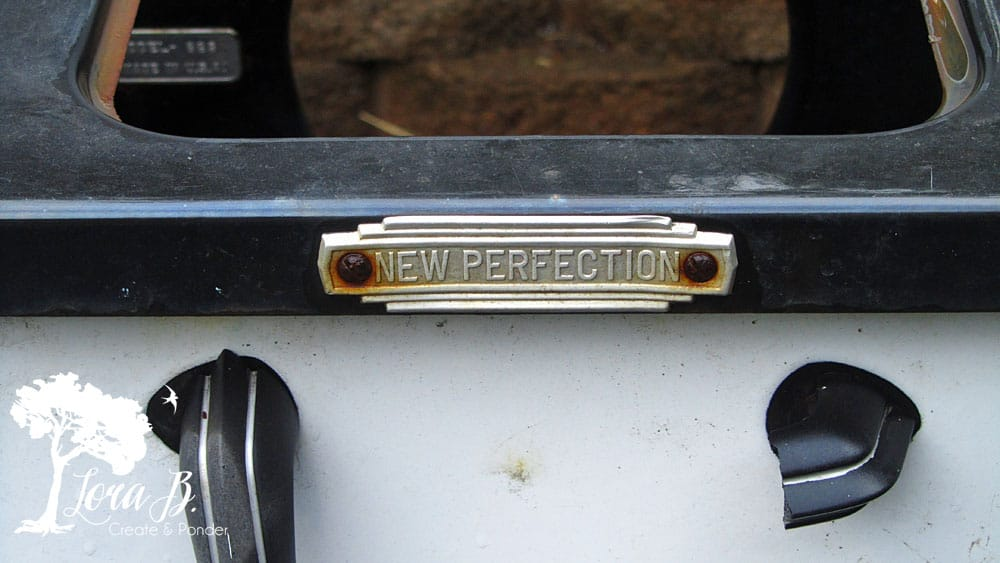 New Perfection antique stove
