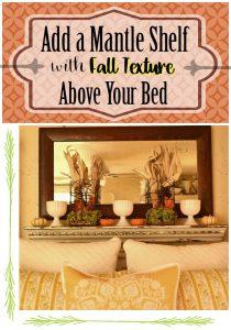 Mantle Shelf for Fall