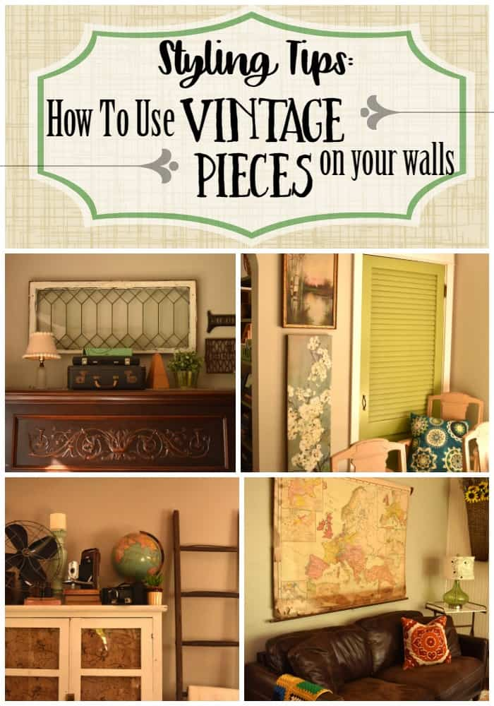 Use Vintage Pieces on your Walls