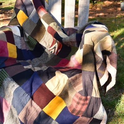 Men's Suit Patchwork Quilts