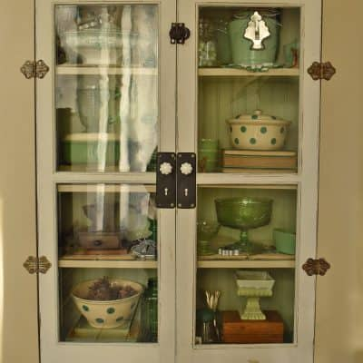 Kitchen Cupboard with Antique Doors