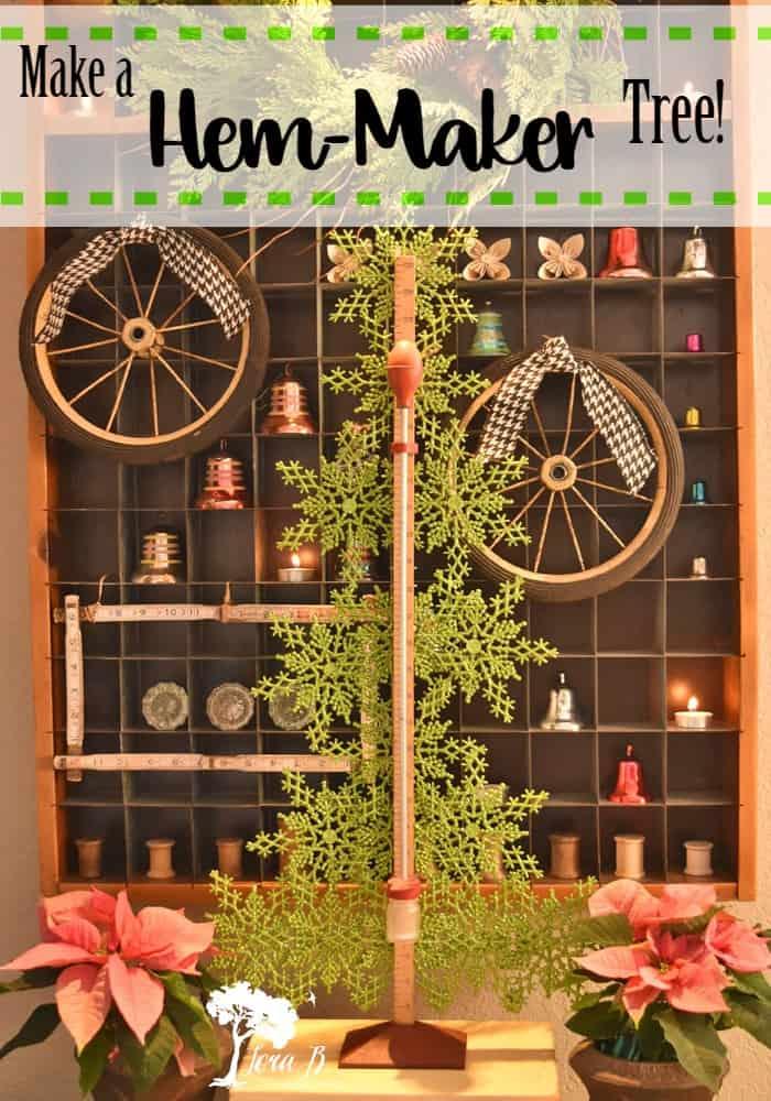 Hem-maker Tree and a Postal Sorter Christmas