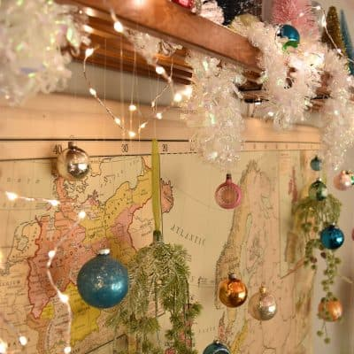 Christmas Map Display