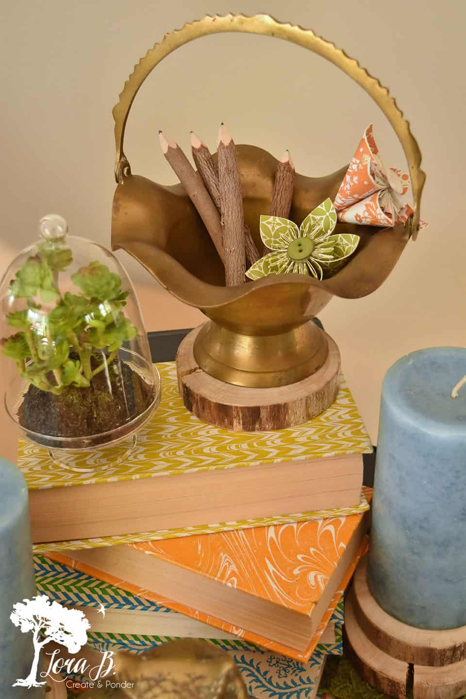 How to Build a Centerpiece #4: Asian Inspired Theme