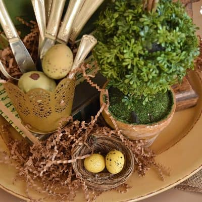 """How to Build a Centerpiece: """"French Country"""" Style"""