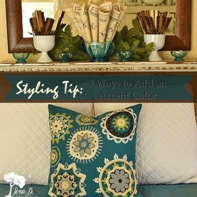 Styling Tip: Using an Accent Color