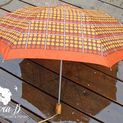 Have a Vintage Umbrella Ready!