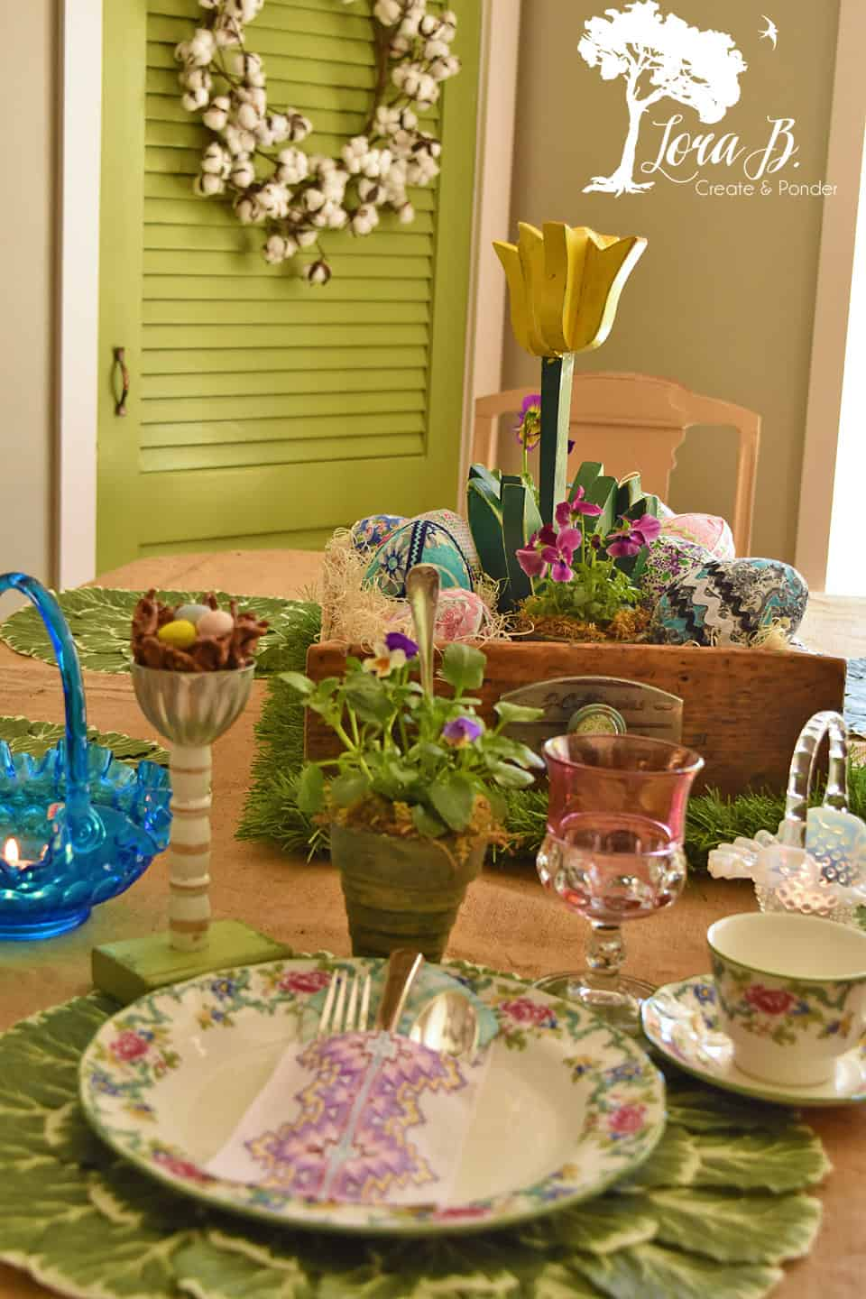Pretty Easter Table