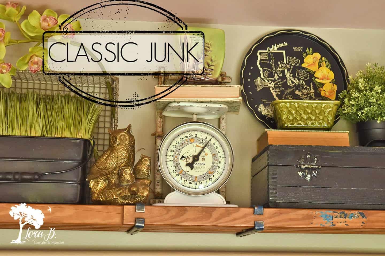Classic vintage junk items