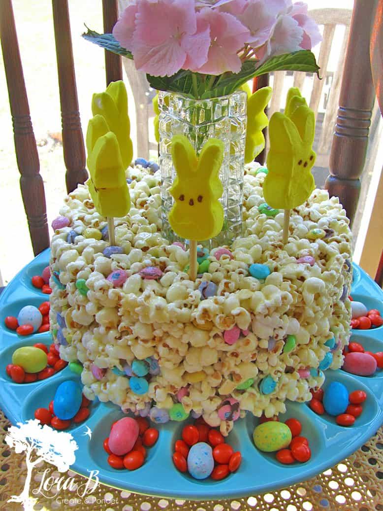 Popcorn Cake, Easter Style