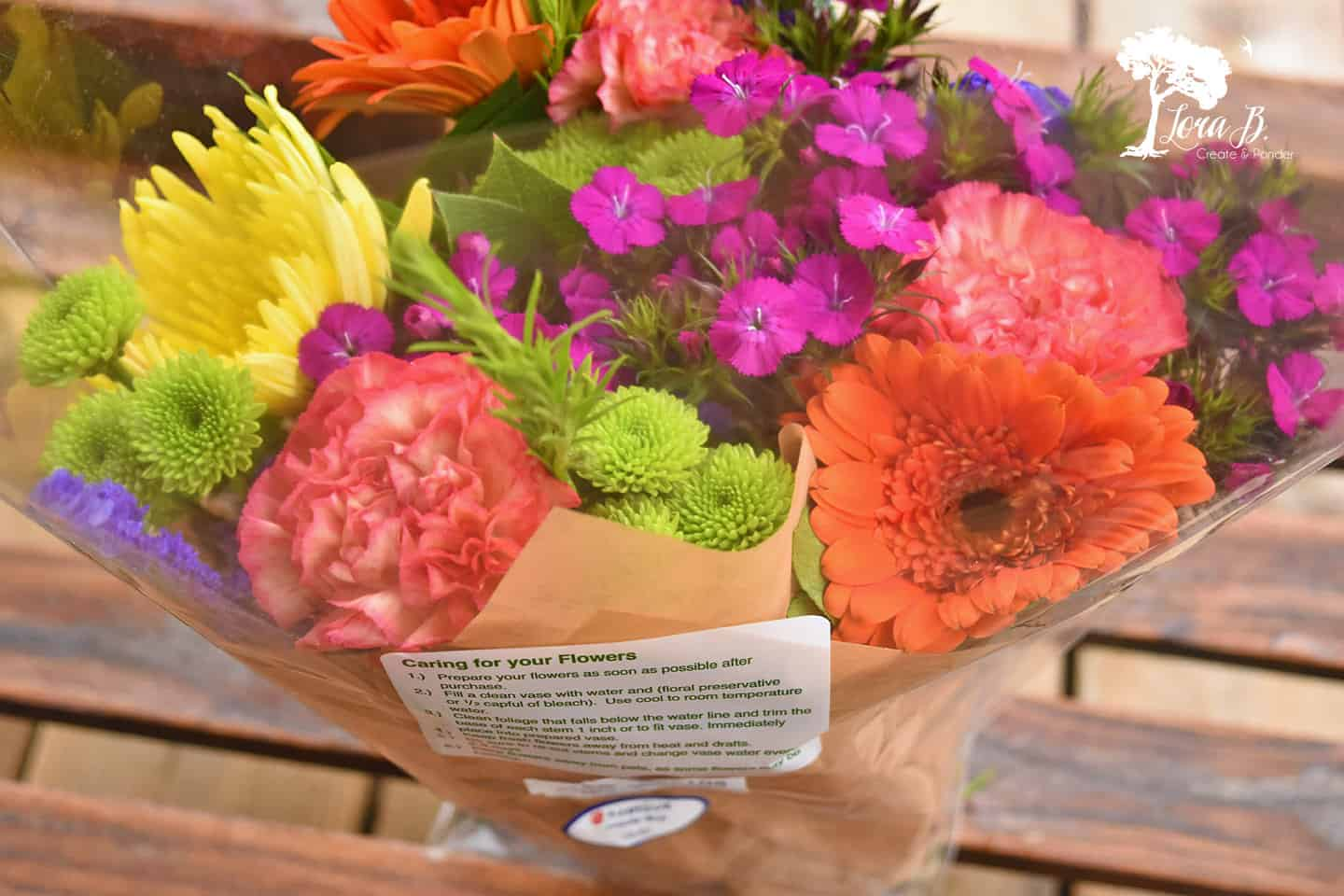 Big Box Bouquet of flowers