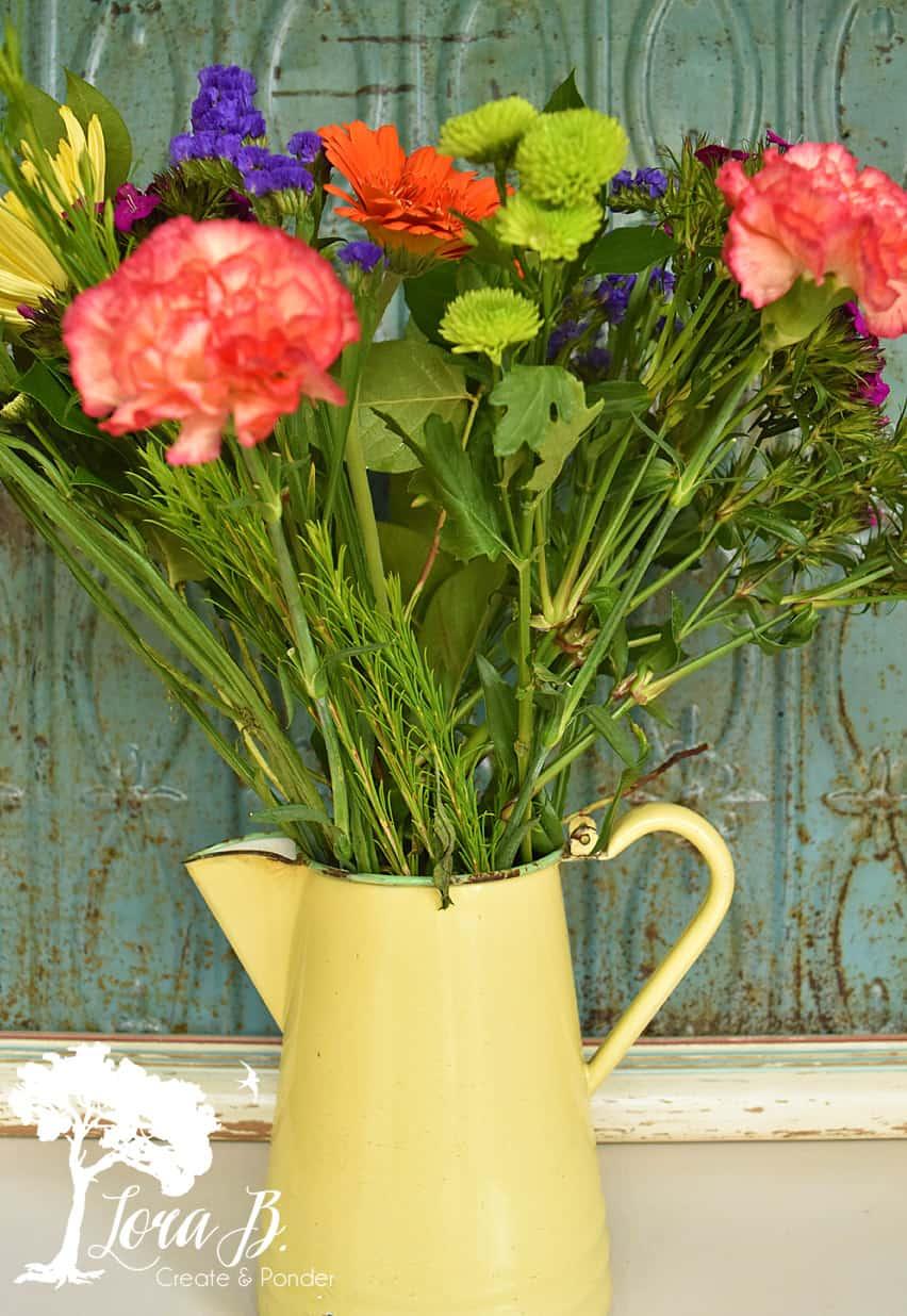 Box store floral bouquet