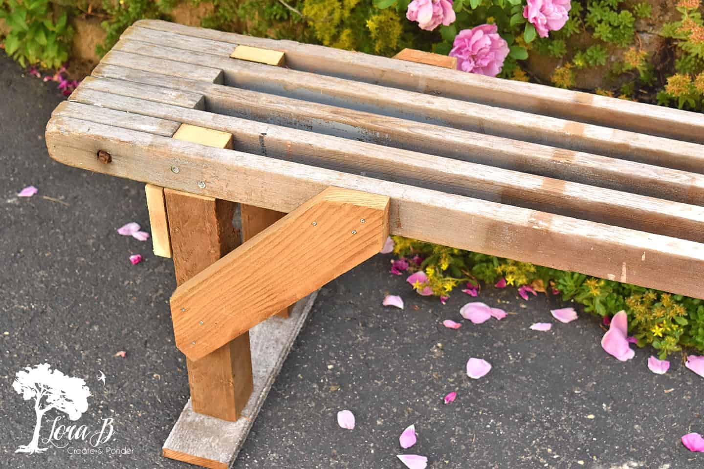 scaffolding bench