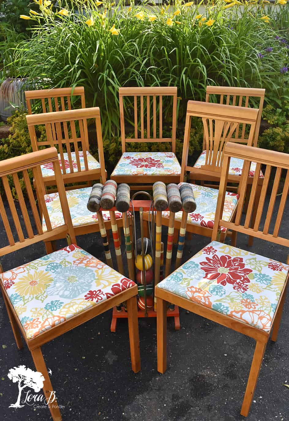Vintage chairs, refreshed.
