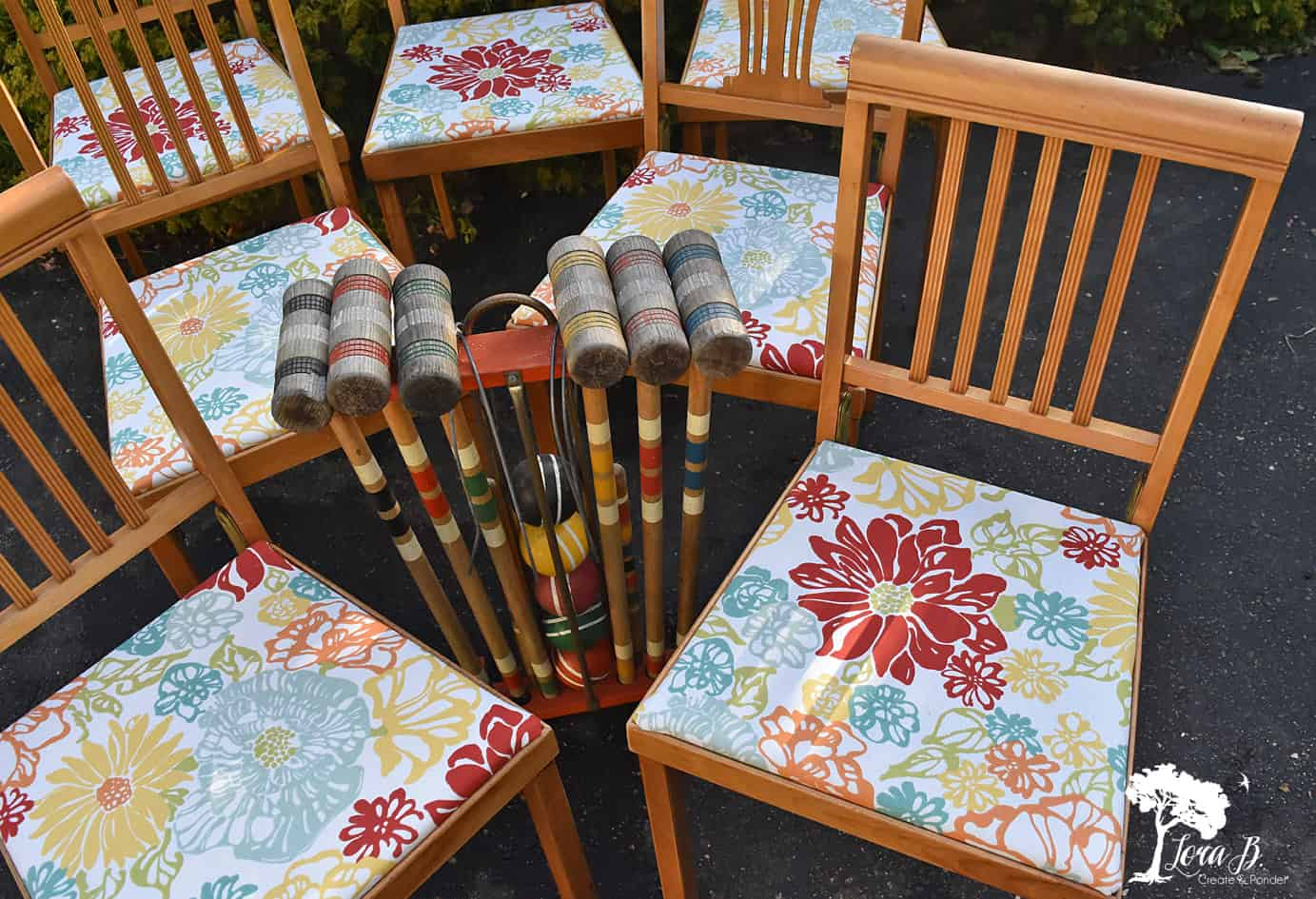 Vintage Leg-o-matic chairs.