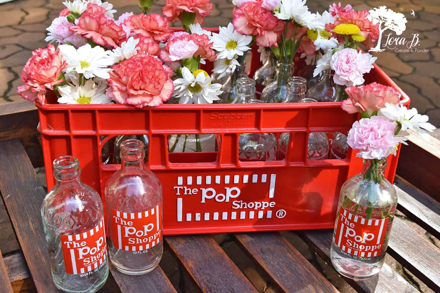 Pop shoppe bottles