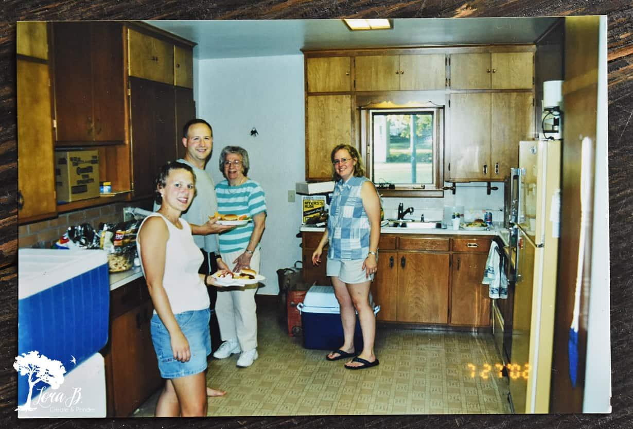 """1960""""s style kitchen"""