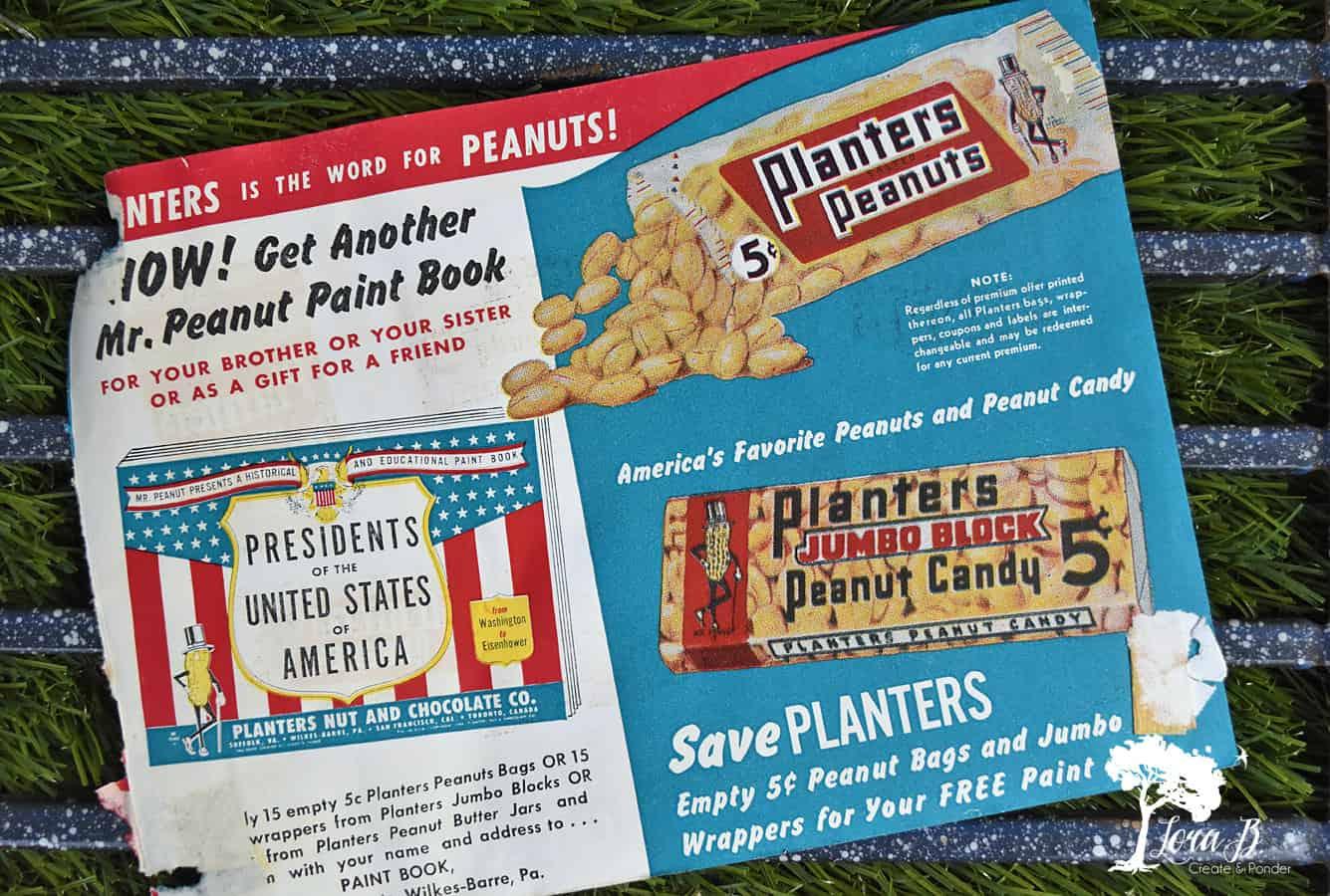 Planter's Peanuts ad