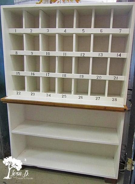 Mail sorter unit