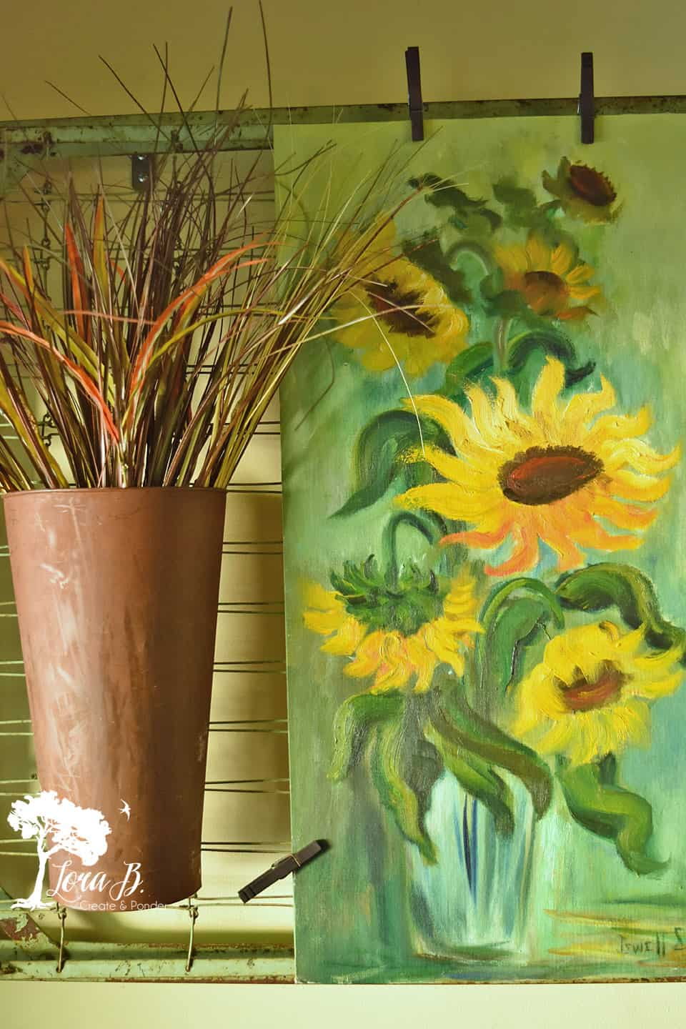 Sunflower art