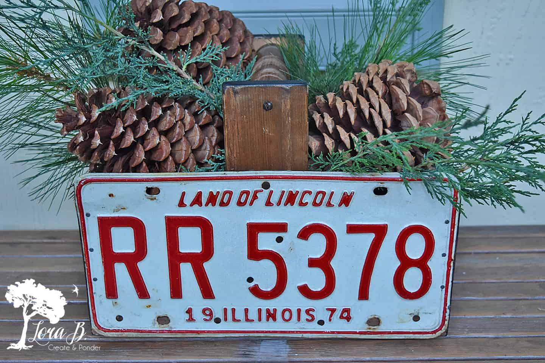 License Plate Trug