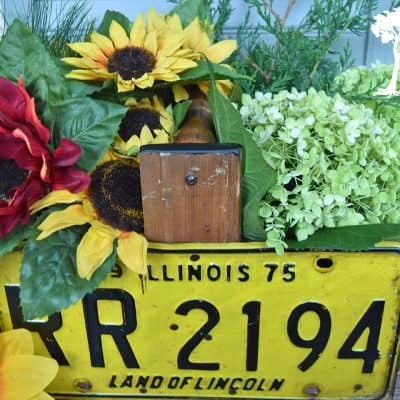 License Plate Trug How-To
