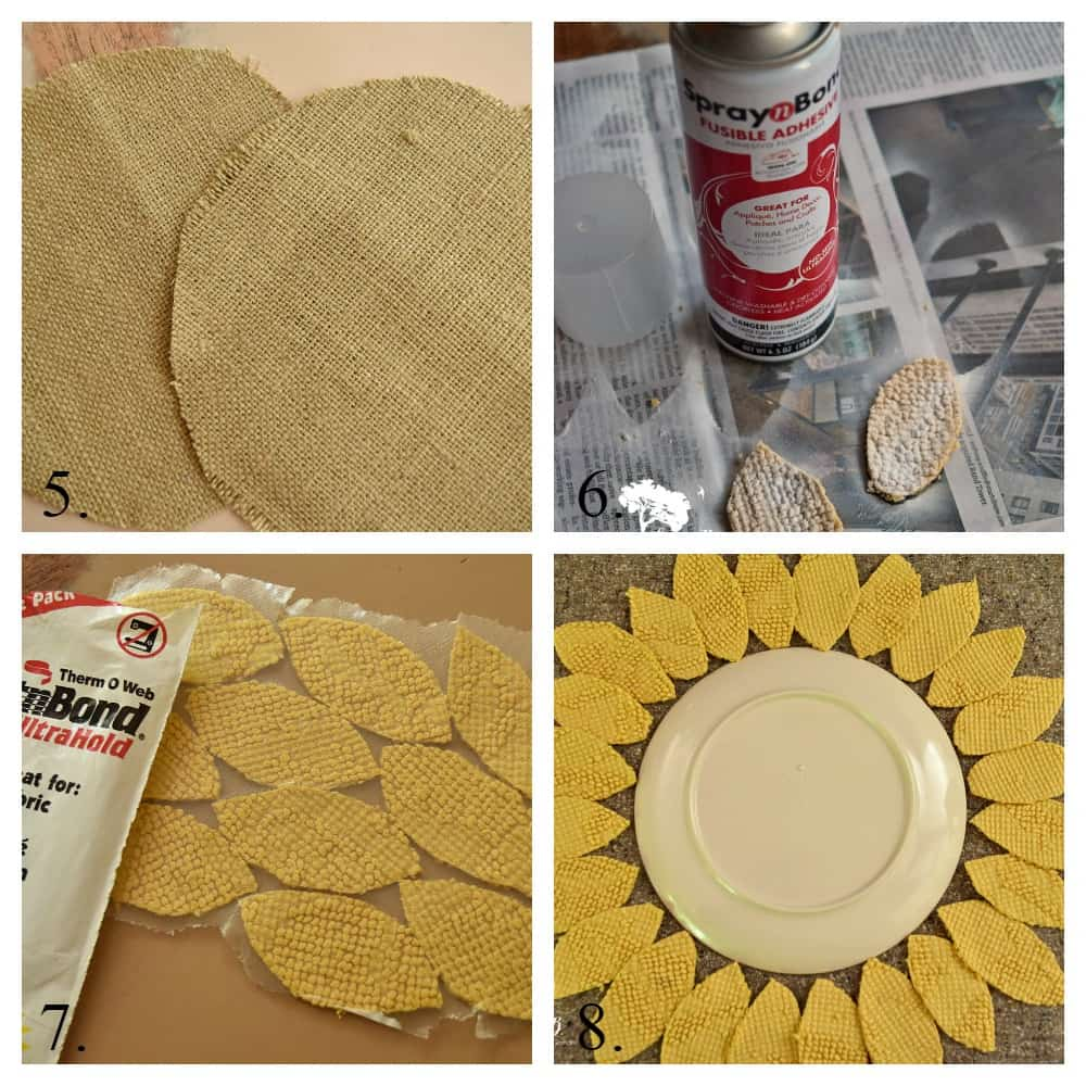 Sunflower Pillow instructions