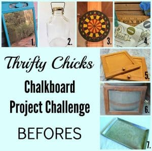 Thrifty Chicks Chalkboard Project Challenge