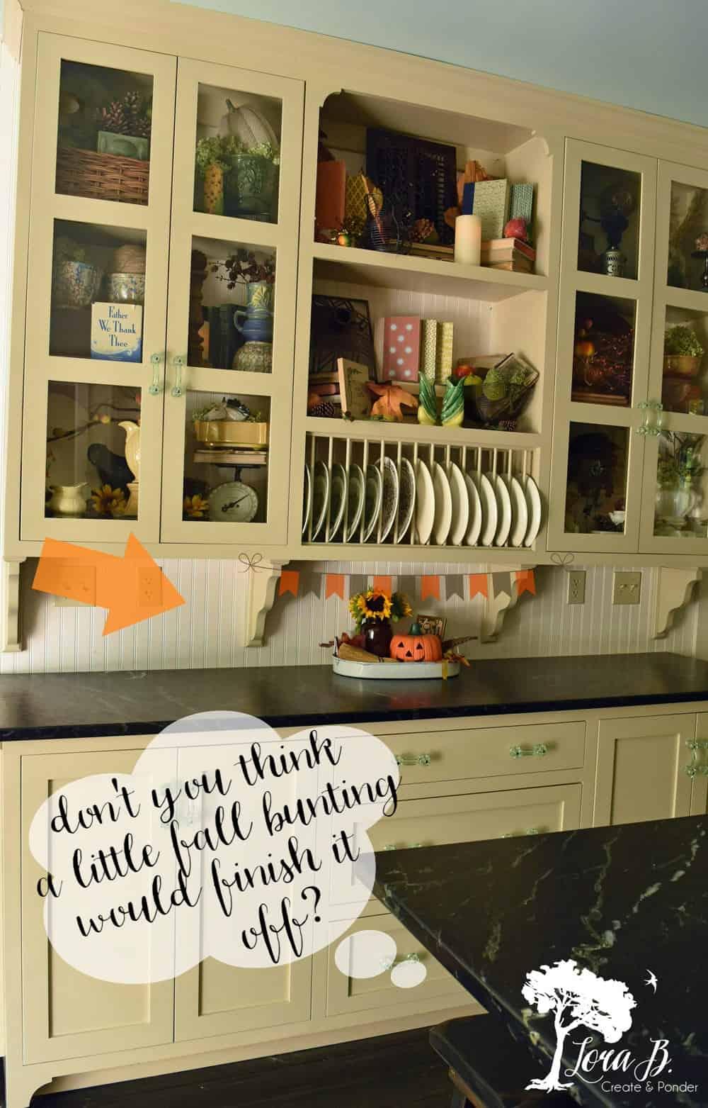 KitchenShelves for Fall