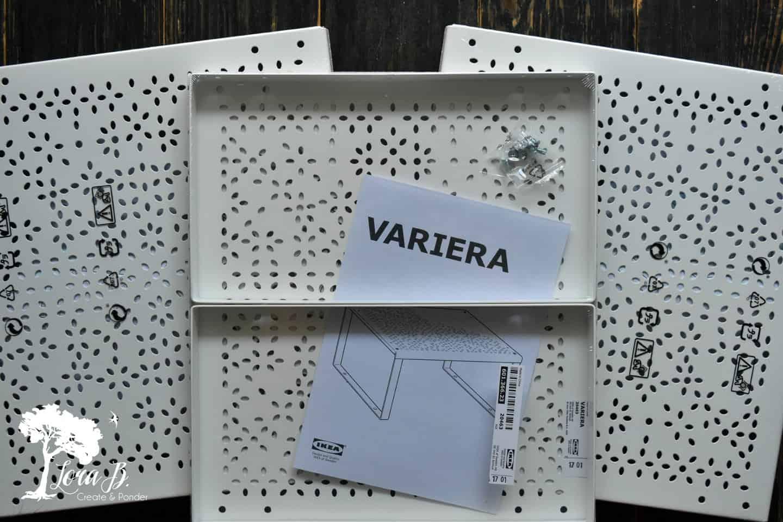 Ikea riser shelves