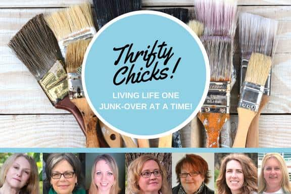 Thrifty Chicks have monthly Junk-over Challenges