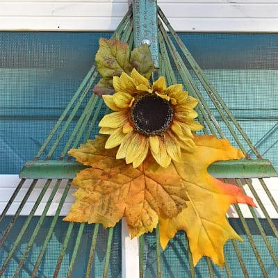 Rake Head Wreath