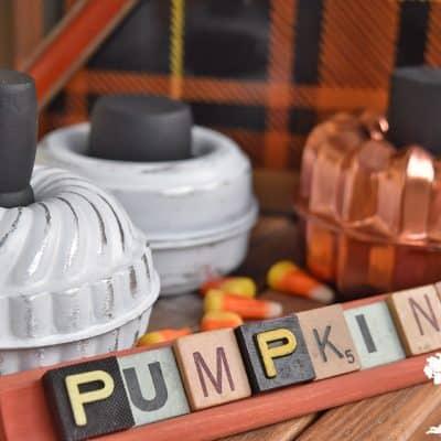 Tart Mold Pumpkins How-To