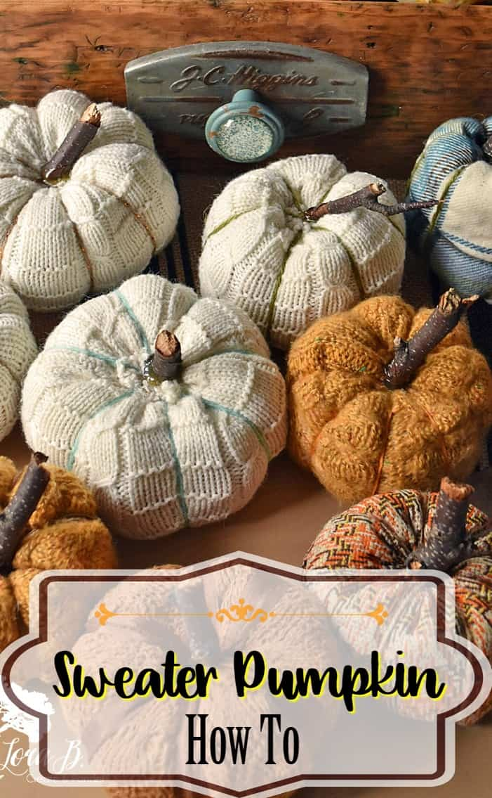 Sweater Pumpkin How To
