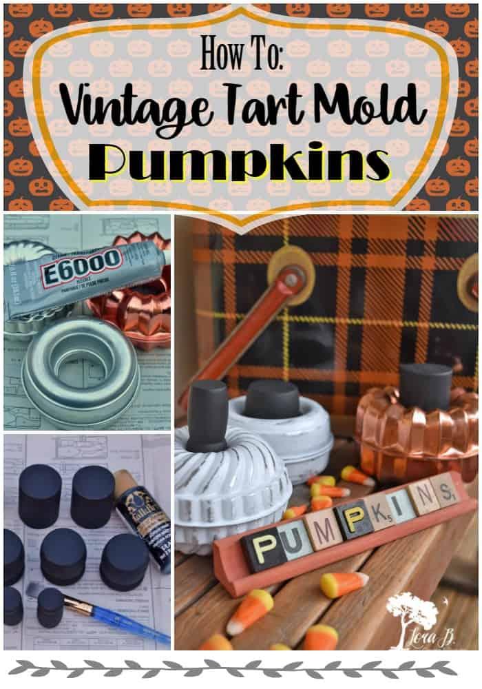 Tart Mold Pumpkins