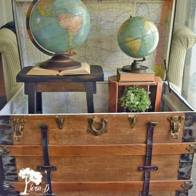 Antique Trunk Refresh