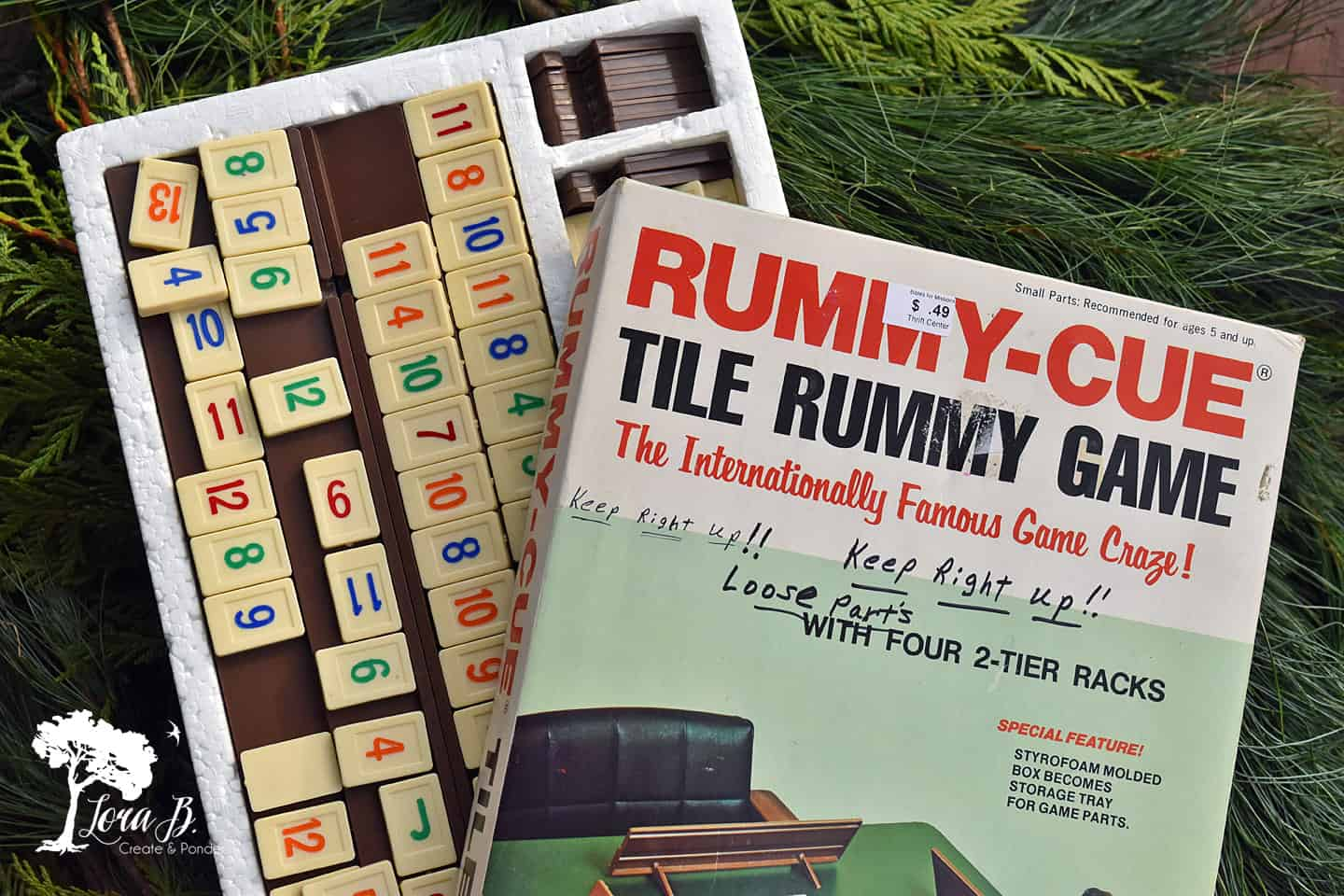 Vintage Rummy-Cue Game