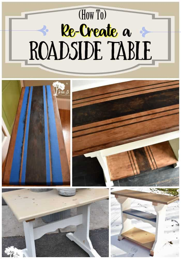 Recreate a roadside table Pin
