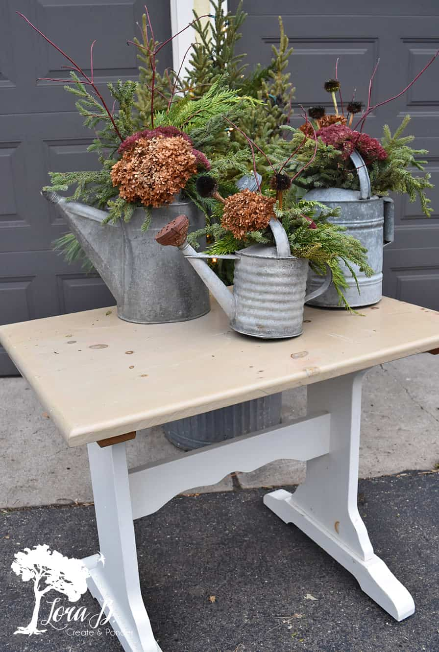Roadside table ready for a makeover
