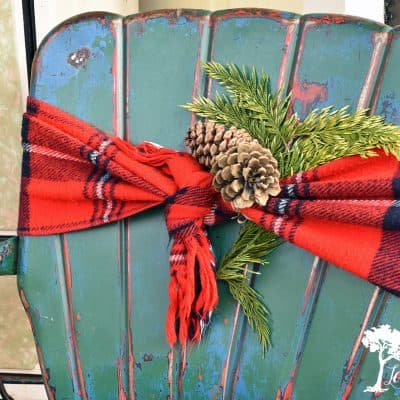 Add Holiday Flourish to your Outdoor Furniture